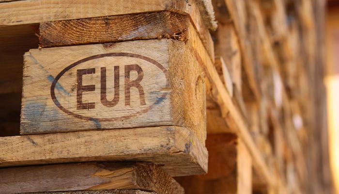 palette europenne - utilisation
