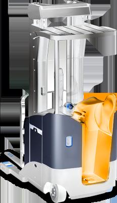 gerbeur électrique porté de conception