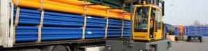 utilisation d'un chariot latéral dans l'industrie plastique