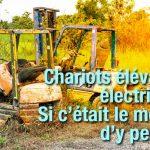 le chariot élévateur électrique - nouveau matériel economique