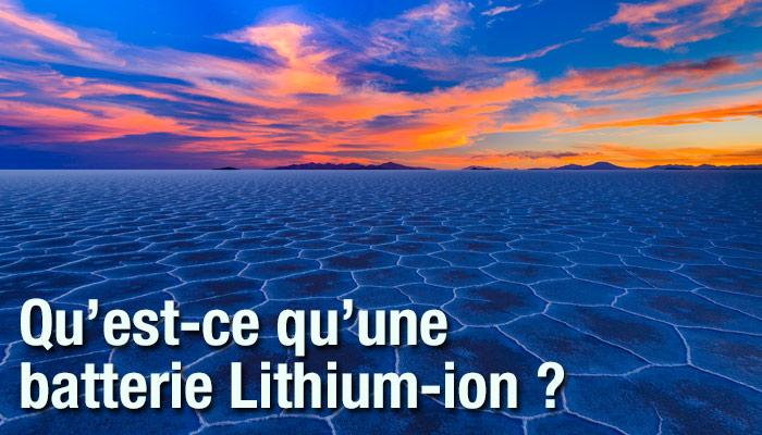 champ alcalin - base de la création du lithium