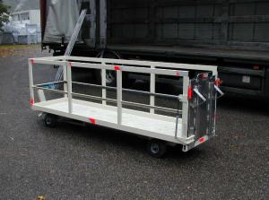 remorque porte caddie - transport caddie