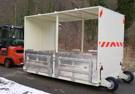 remorque porte rolls - transport chariot roulette