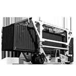 Cavalier porte container