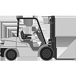 chariote elevateur diesel