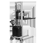 gerbeur semi electrique traction manuelle & levage électrique)