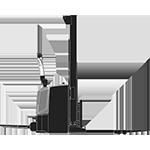 transpalette gerbeur électrique avec plateforme