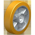 modèle de roue directrice polyurethane transpalette manuel